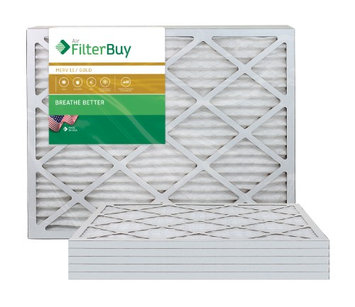 AFB Gold MERV 11 28x30x1 Pleated AC Furnace Air Filter. Filters. 100% produced in the USA. (Pack of 6)
