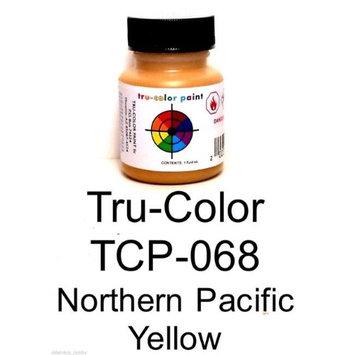 Tru-Color Paint TCP068 1 oz Northern Pacific Paint Bottle Yellow