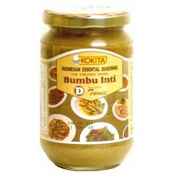 Kokita Indonesian Essential Seasoning Mix D - Bumbu Inti For Stir-fried Dishes, 12.3-Ounce Jars (Pack of 3)