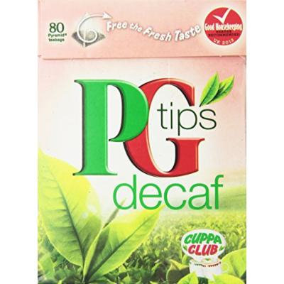 PG Tips Decaf 80 Ct Tea Bags - 4 Pack