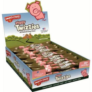 Tural Animal Nutrition Smart N Tasty Piggy Twist Dog Chew 9 Inch