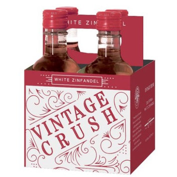 Vinted And Bottled For Walmart Stores, Inc. Vintage Crush White Zinfandel 4pk 187 Ml