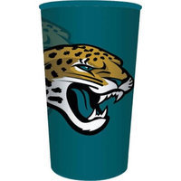 Hoffmaster Group 119515 20 by 1 Count Jacksonville Jaguars 22 oz Plastic Favor Cup - Case of 20