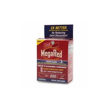 Schiff MegaRed Krill Oil Joint Care, Softgels 30 ea
