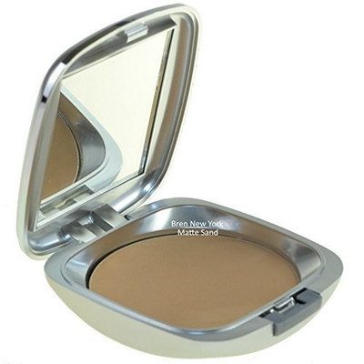 Oil-Free Pressed Powder Leaves Skin Looking Even and Flawless Matte Sand