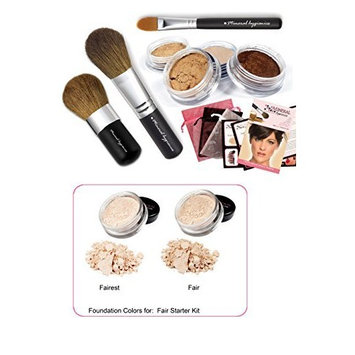 Mineral Makeup Starter Kit- Fair by Mineral Hygienics