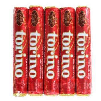 Torino 5 Pack Swiss Chocolate Bars 4oz. (Pack of 4)