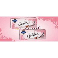 2 Boxes of Fazer Geisha Milk Chocolate with Hazelnut Filling 700g 25 Oz Finland