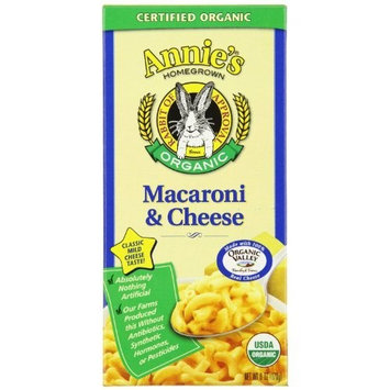 Annie's Homegrown Organic Classic Macaroni & Cheese 6 Ounce (Pack of 3)