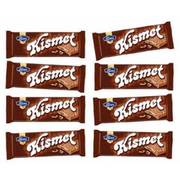 8 Bars of Finnish Fazer Kismet Milk Chocolate Bars Crisp Waffle and Nougat Milk