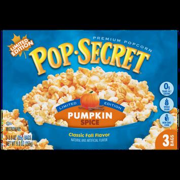 Snyders-lance Pop Secret Microwave Popcorn, Pumpkin Spice, 3 Count Box