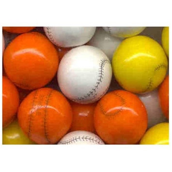Candymachines Gumballs By The Pound - 1 Pound Bag of Baseball