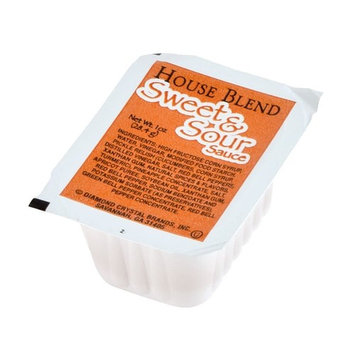Sweet and Sour Sauce 1 oz. Portion Cup - 100/Case By TableTop King