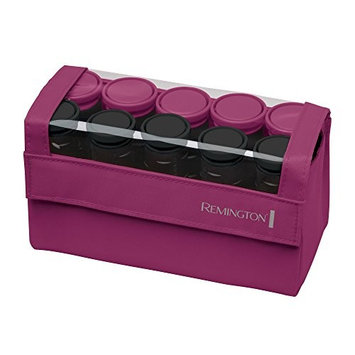Remington H1015 Compact Ceramic Worldwide Voltage Hair Setter, Hair Rollers, 1-1 ¼ Inch, Pink (Certified Refurbished)