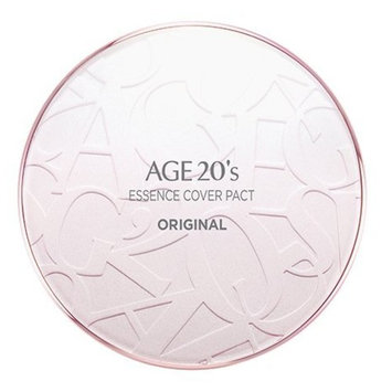AGE 20's Essence Cover Pact Original Pink Latte (Color 13) Single set 12.5g + Extra Refill 12.5g