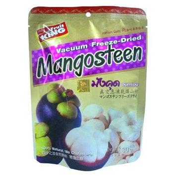 King Fruit-Mangosteen, Vacuum Freeze-Dried Thai Snack 1.0 Ounce Bag