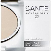 Sante Naturkosmetik Pure Colors of Nature Pressed Powder Porcelain No. 01