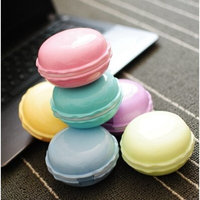 Petmall 1PCS Mini Contact Lens Case Travel Kit Easy Carry Mirror Container Box Holder OFFICE-365