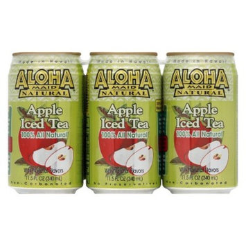 Aloha Apple Iced Tea - 6pk/11.5 fl oz Cans
