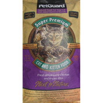 Petguard Cat and Kitten Food, Fresh Wholesome Chicken and Brown Rice, 17 lb