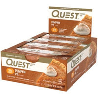 Quest Bar - PUMPKIN PIE (12 Bars) by Quest Nutrition at the Vitamin Shoppe