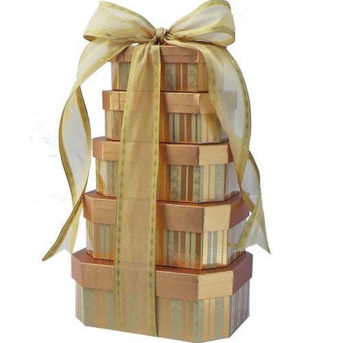 Sweet Appreciation Gourmet Gift Tower of Treats, (Candy Option)