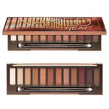 naked 12 color Naked Heat Eyeshadow Palette