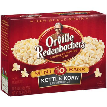 Orville Redenbacher's Gourmet Kettle Korn Mini Microwave Popcorn, 10ct