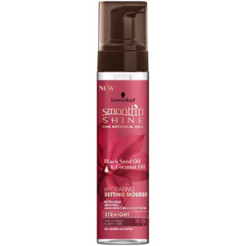 Smooth 'n Shine Straight Hydrating Setting Mousse - 8.5oz