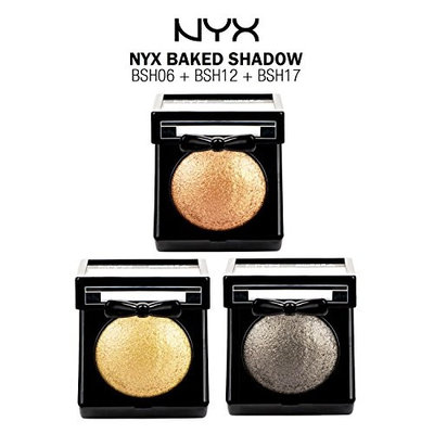 (3 PACK) NYX Baked Shadow Set 01 : Beauty