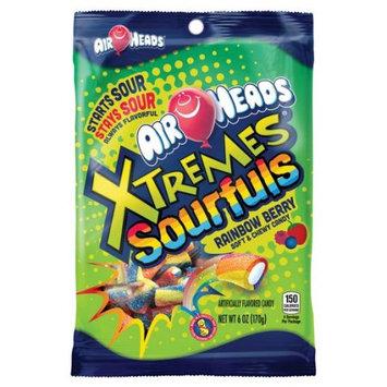 Perfetti Van Melle Airheads Xtremes Sourfuls Rainbow Berry 6oz Bag - Box 12