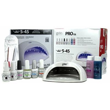 Gelish Pro Kit with LED Gel Light, 9 Count