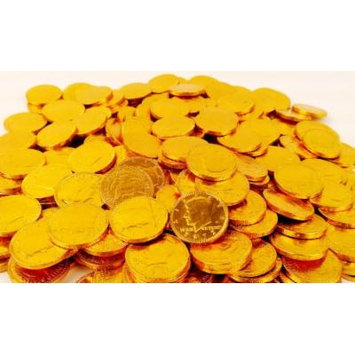 Fort Knox Chocolate Gold Coins, 1lb Bag