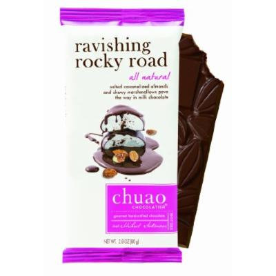 Chuao Chocolatier Ravishing Rocky Road Chocolate Bar (10-pack)