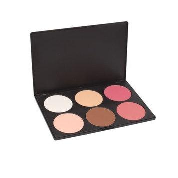 Crazy Cart Professional 6 Color Makeup Cosmetic Blush Blusher Contour Powder Palette