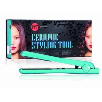 PYT Flat Iron Ceramic Hair Straightener (Turquoise)