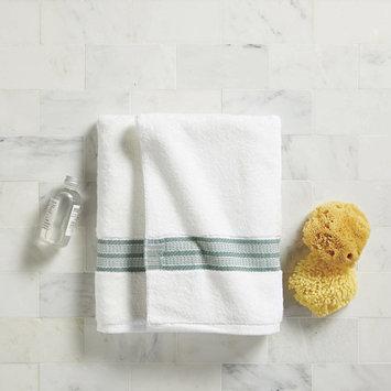 Better Homes & Gardens USA Bath Towel Green Stripe
