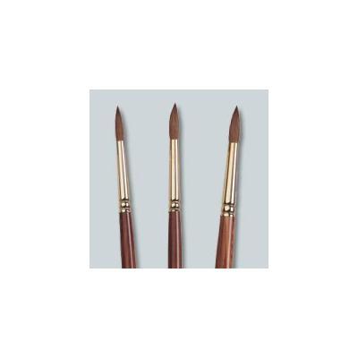 Medicool Kolinsky Acrylic Round Sable Nail Brush - Sz 10