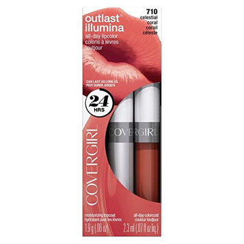 COVERGIRL Outlast Lipcolor Celestial Coral 710 0.06 Fl Oz by COVERGIRL