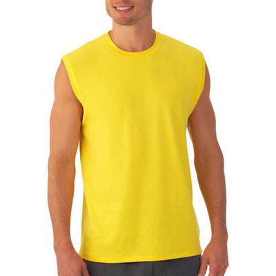 Men's Muscle T-Shirt with Rib Trim