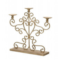 Zingz & Thingz 57071143 Iron Heart Candelabra