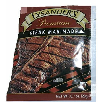 Lysander's Premium Steak Marinade, .7-Ounce (Pack of 12)