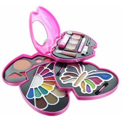 ETA Pink Double Heart Glamour Girl Makeup Color Kit BR by ETA Cosmetics