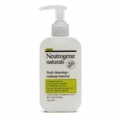 Neutrogena Naturals Fresh Cleansing + Makeup Remover 6 Fl Oz / 177 Ml (Pack of 4)