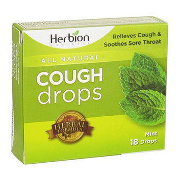 Herbion All Natural Cough Drops (Mint) - 18 Drops