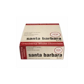 Santa Barbara Bar Cranberry White Chocolate Bar 12 Bar(S)