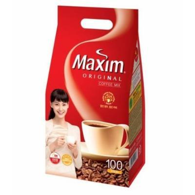 MAXIM Original Instant Coffee Mix - 100 Sticks