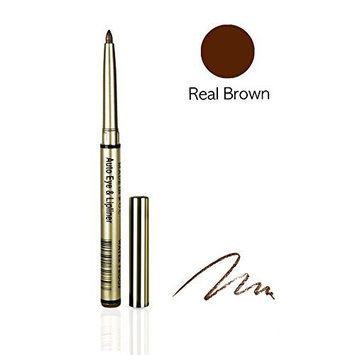 One & Only Cosmetics Waterproof Auto Eye & Lip Liner Pencils (Real Browne) by One & Only Cosmetics