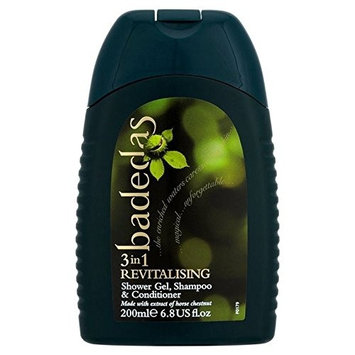 Badedas Revitalising Shower Gel, Shampoo & Conditioner 200ml (PACK OF 2)