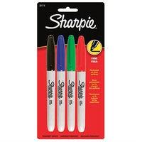 Sanford Corporation 30174 4 Count Fine Tip Sharpie (6 Pack)